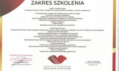 AG- Certyfikat (usta 2)
